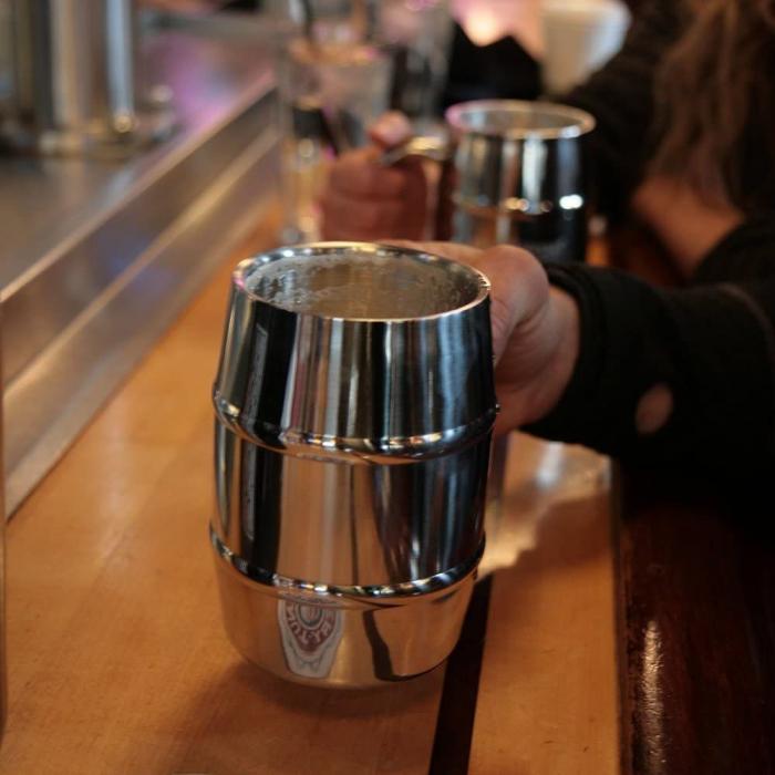 Halba de bere cu racire Iron Chiller, 400 ml 1