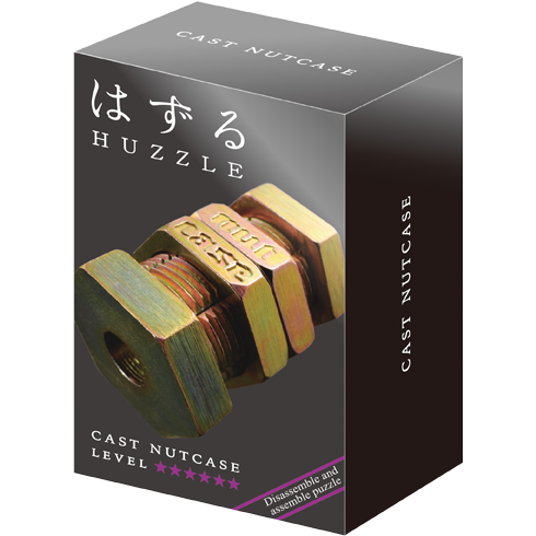 Hanayama Huzzle Cast NUTCASE 0