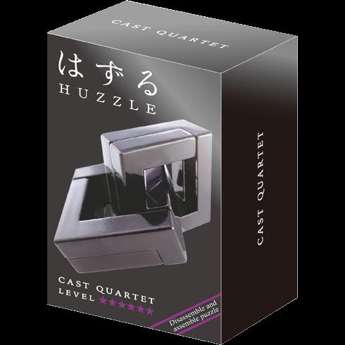 Hanayama Huzzle Cast QUARTET 0