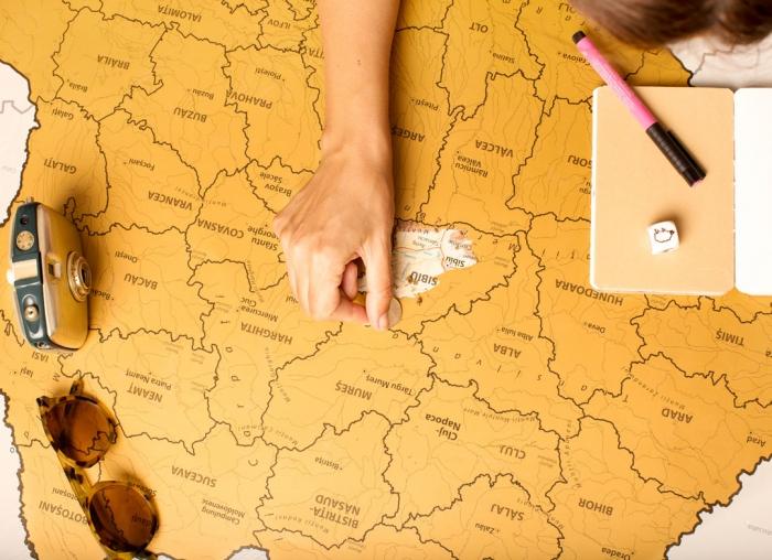 Harta Razuibila a Romaniei 8