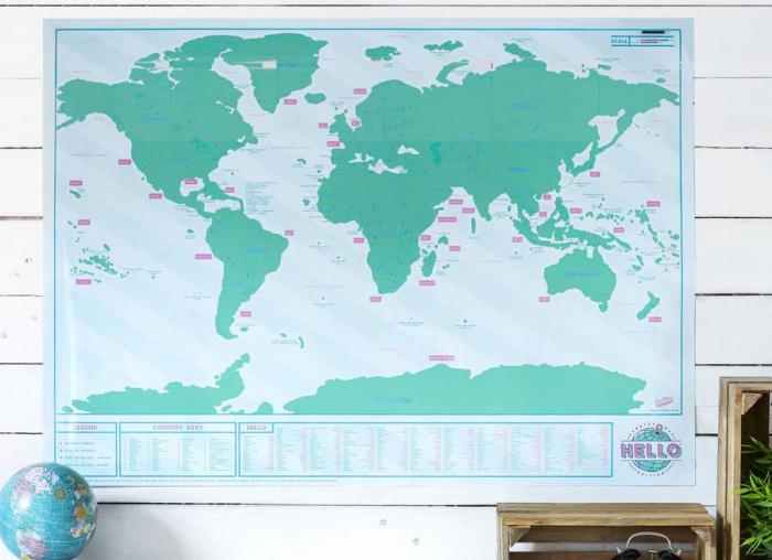 Harta razuibila Editia Hello - Originala Luckies 2