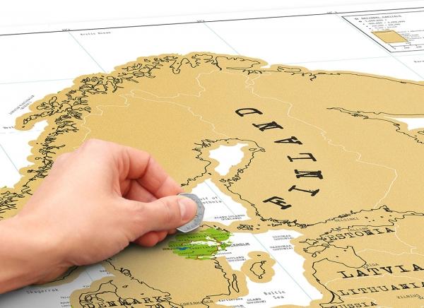 Harta razuibila Europa Mea 1