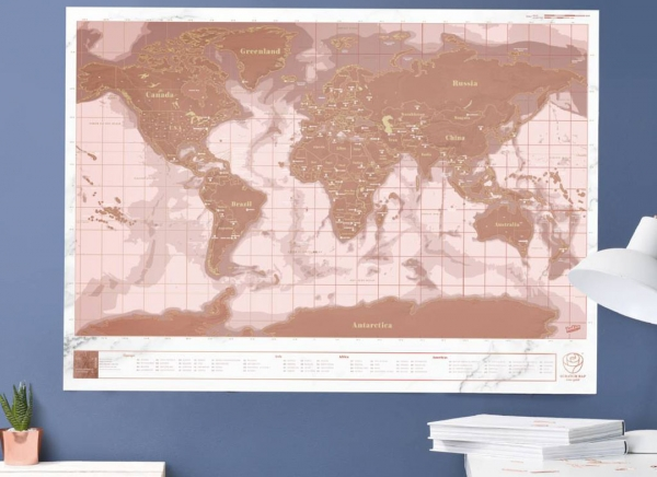 Harta razuibila Rose Gold - Originala Luckies [4]