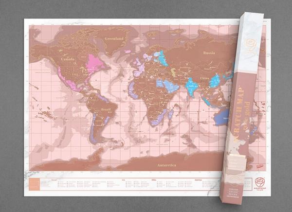 Harta razuibila Rose Gold - Originala Luckies [3]