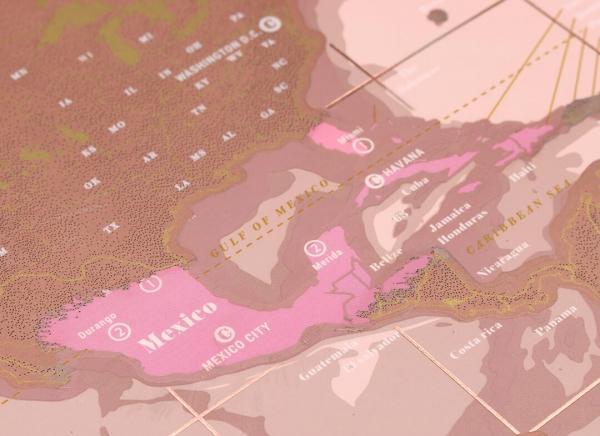 Harta razuibila Rose Gold - Originala Luckies [10]