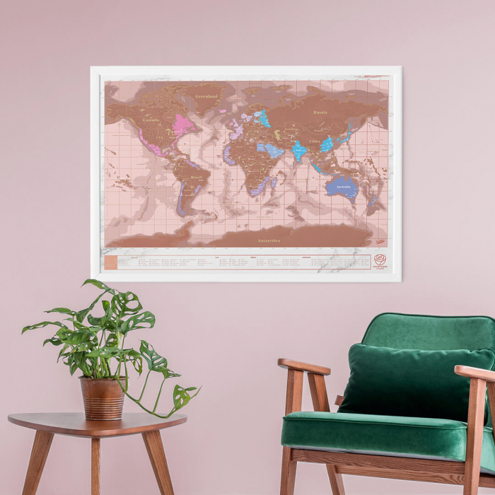 Harta razuibila Rose Gold - Originala Luckies [0]