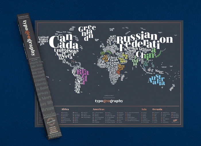 Harta razuibila Typogeography 4
