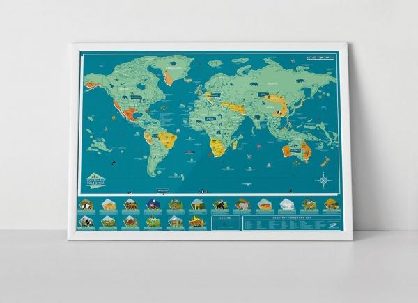 Harta Razuibila Wild - Originala Luckies 1