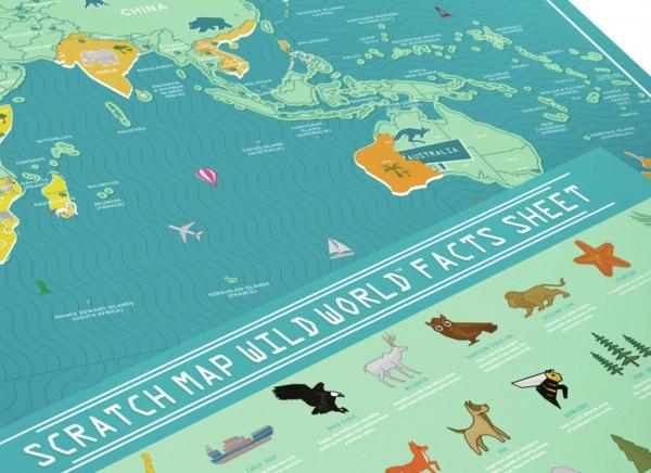Harta Razuibila Wild - Originala Luckies 5