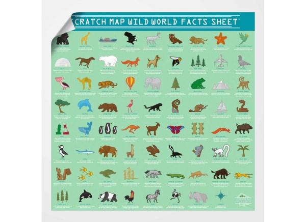 Harta Razuibila Wild - Originala Luckies 7