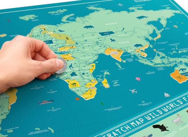 Harta Razuibila Wild - Originala Luckies 0