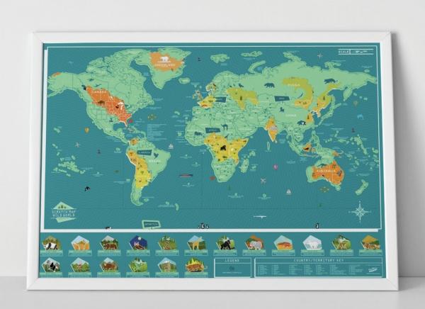 Harta Razuibila Wild - Originala Luckies 2