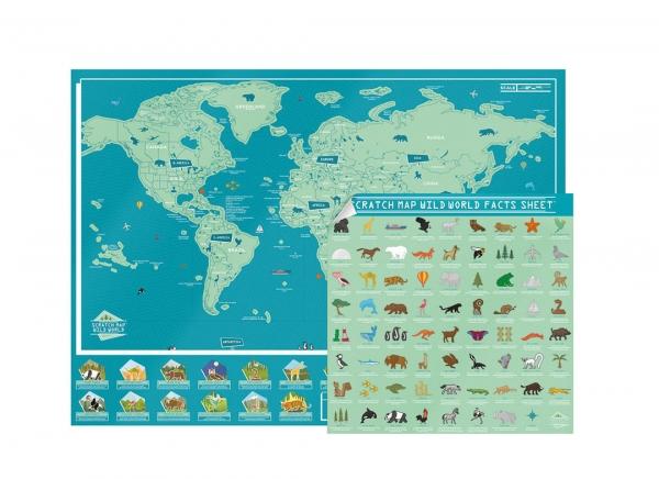 Harta Razuibila Wild - Originala Luckies 6
