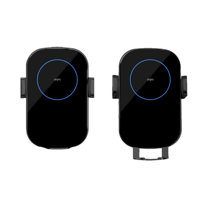 Incarcator telefon auto wireless cu fixare automata 1