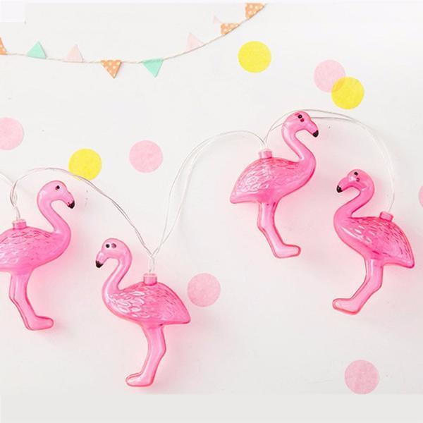 Instalatie de lumini Flamingo Roz 11