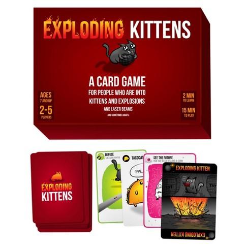 Joc de Carti Exploding Kittens 1