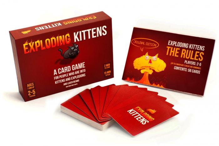 Joc de Carti Exploding Kittens 0