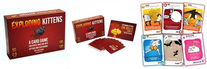 Joc de Carti Exploding Kittens 2