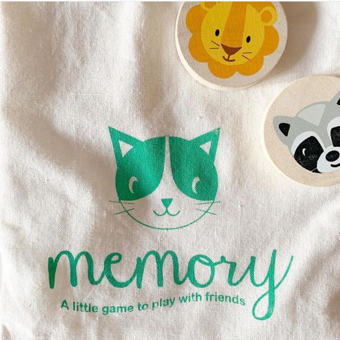 Joc de memorie din lemn, Pisica inteligenta, 21 piese 3