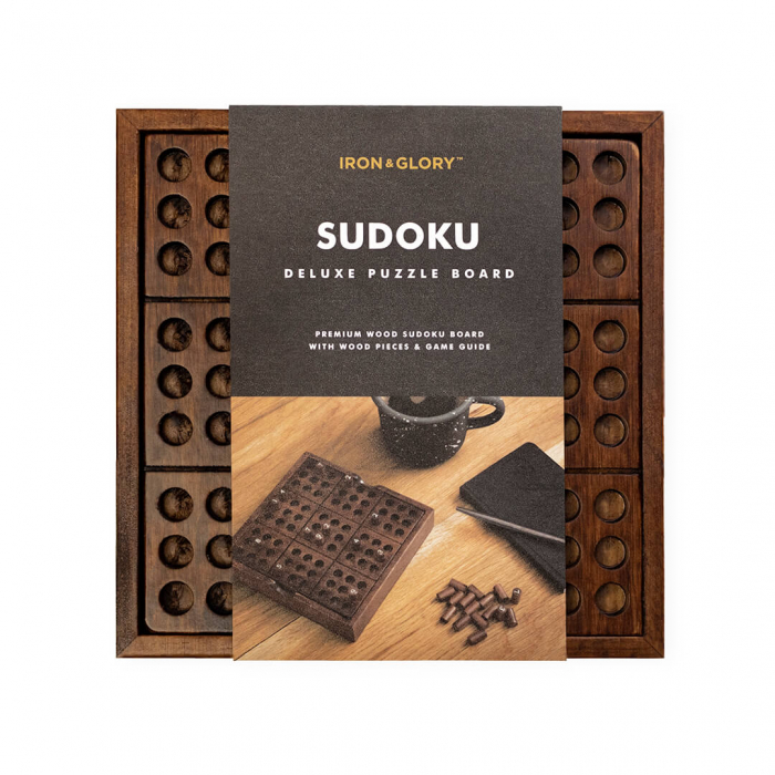 Joc din lemn Sudoku Deluxe [2]