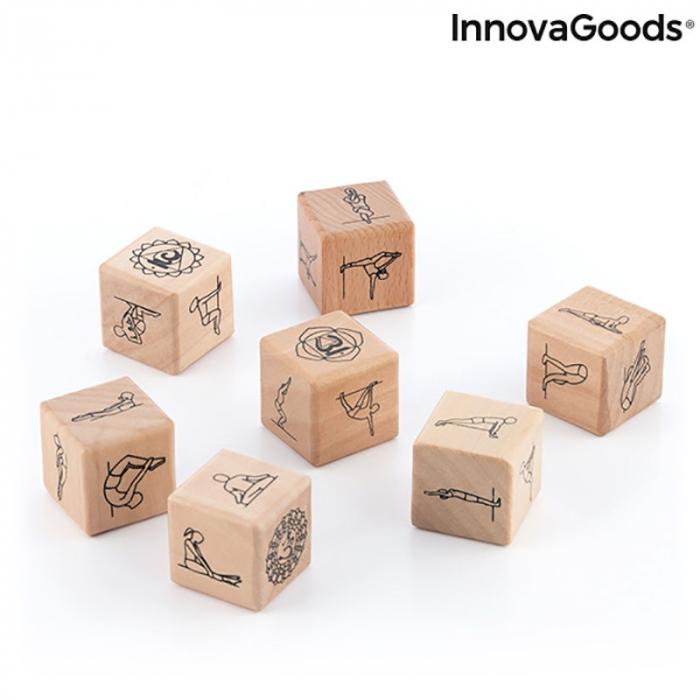 Yoga Game cu zaruri din lemn 2
