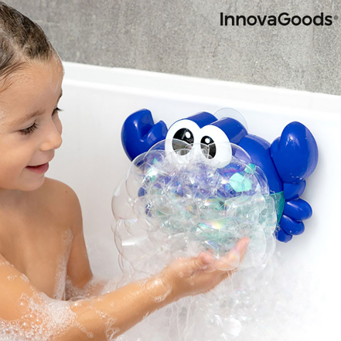 Jucarie de baie Rac Muzical cu Baloane de sapun 1