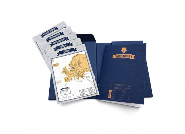 Jurnal de voiaj Travelogue cu harti razuibile 2