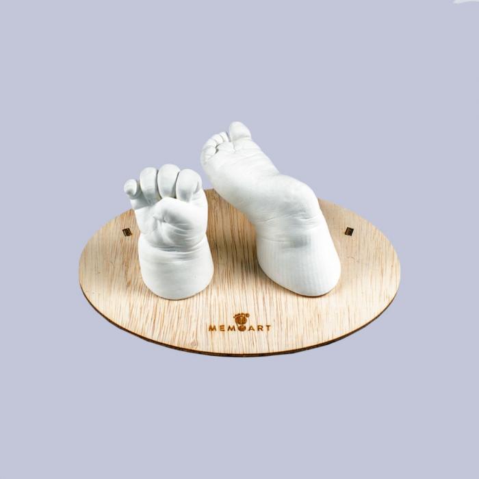 Kit amprenta bebe manuta si piciorus [9]