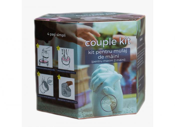 Kit mulaj 3D pentru iubiti, mainile noastre impreuna 12