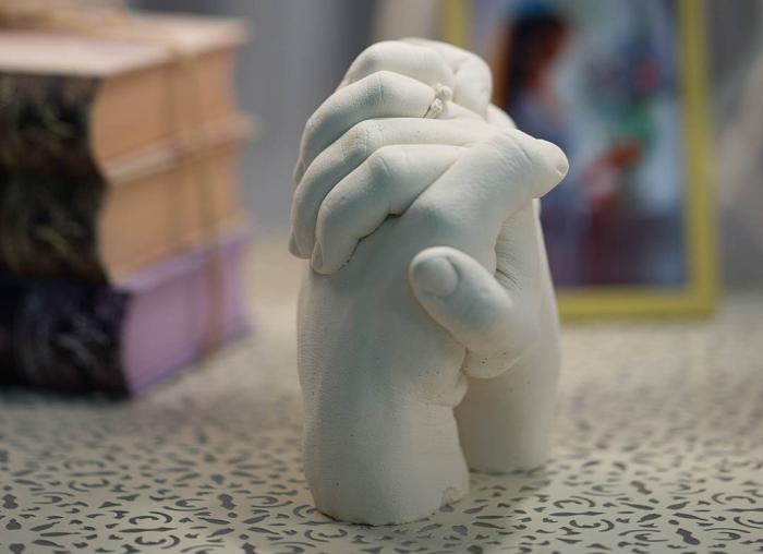 Kit mulaj 3D pentru iubiti, mainile noastre impreuna 4