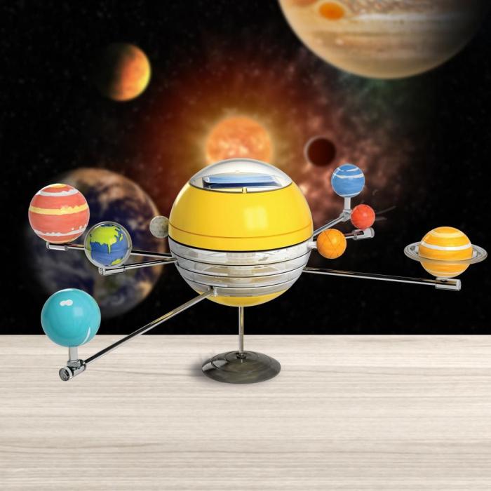Kit sistemul solar 3D, jucarie cu planete 0