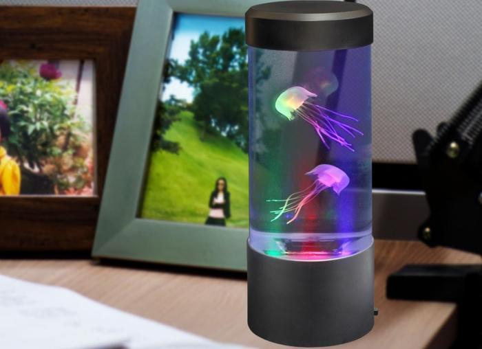 Lampa led acvariu cu meduze 1