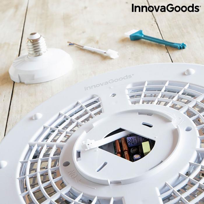 Lampa anti insecte de tavan, LED, ecologica Mosquito Boom 8