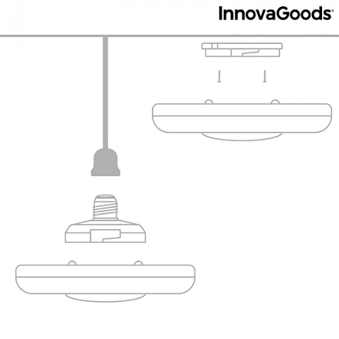 Lampa anti insecte de tavan, LED, ecologica Mosquito Boom 10