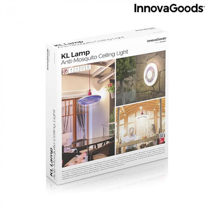 Lampa anti insecte de tavan, LED, ecologica Mosquito Boom 14