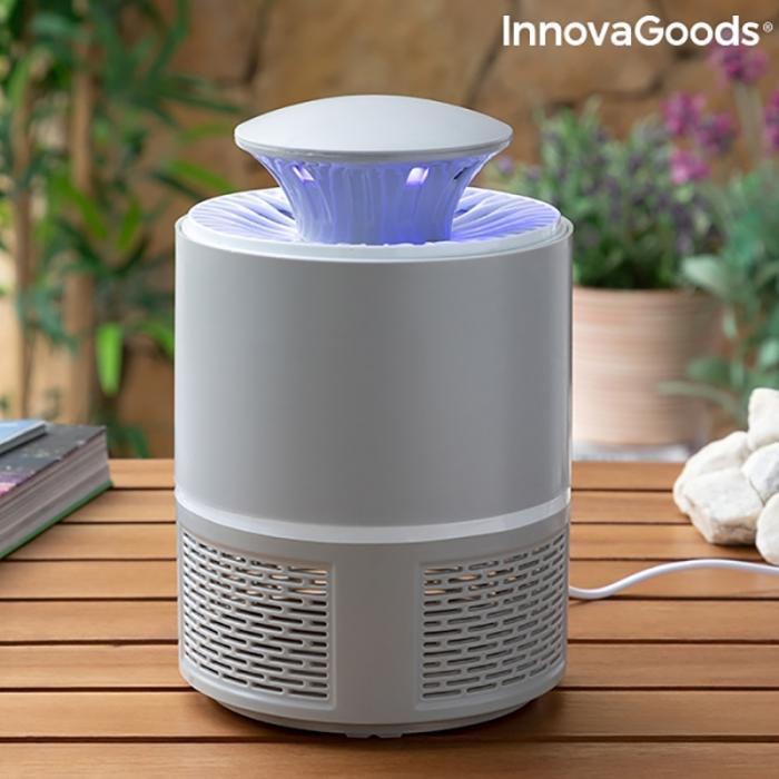Lampa anti insecte LED, cu tehnologie prin aspirare [1]