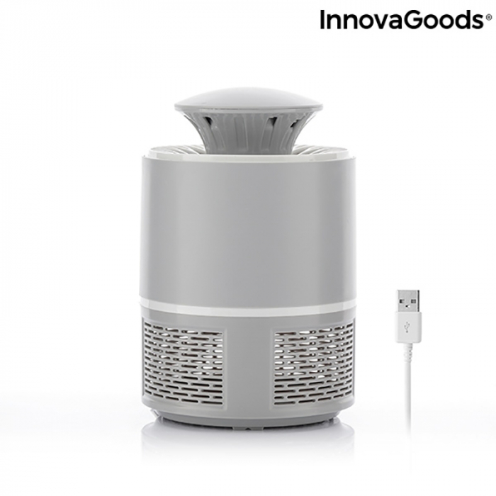 Lampa anti insecte LED, cu tehnologie prin aspirare [7]