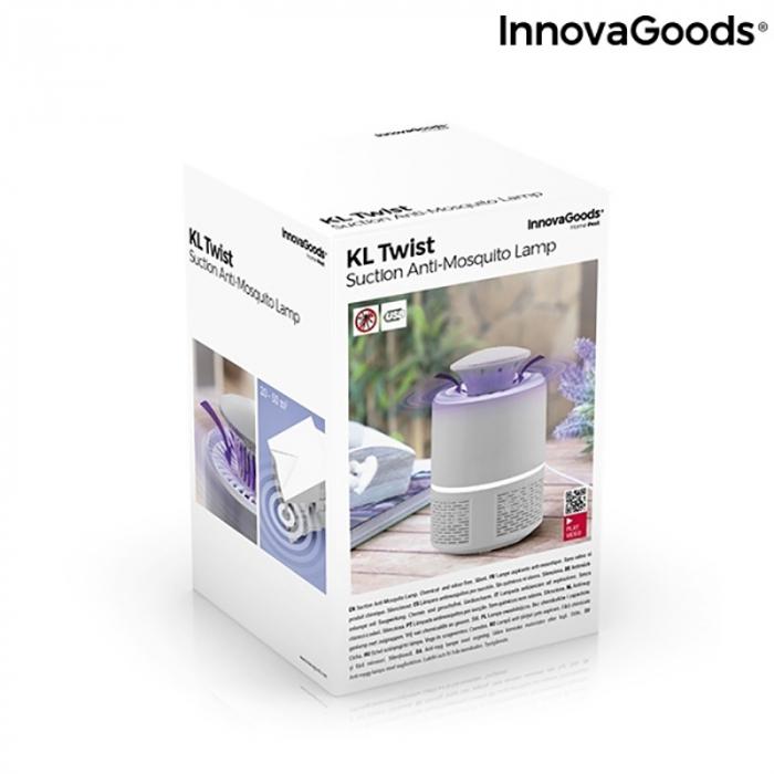 Lampa anti insecte LED, cu tehnologie prin aspirare [8]