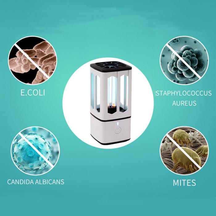 Lampa bactericida UV portabila, pentru sterilizare, dezinfectie, antimucegai 2