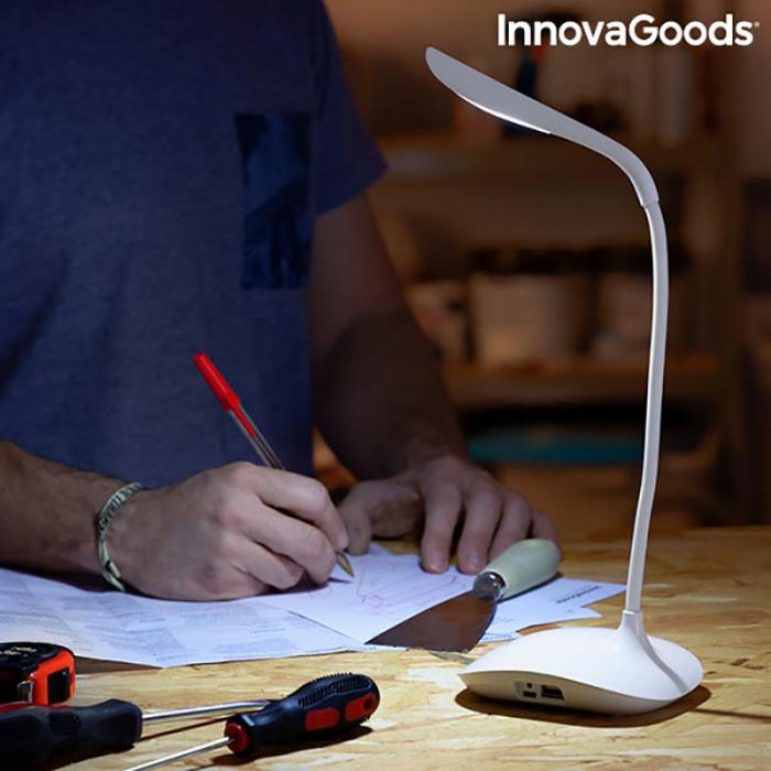 Lampa de birou portabila, cu touch control, Flexy Lummy 2