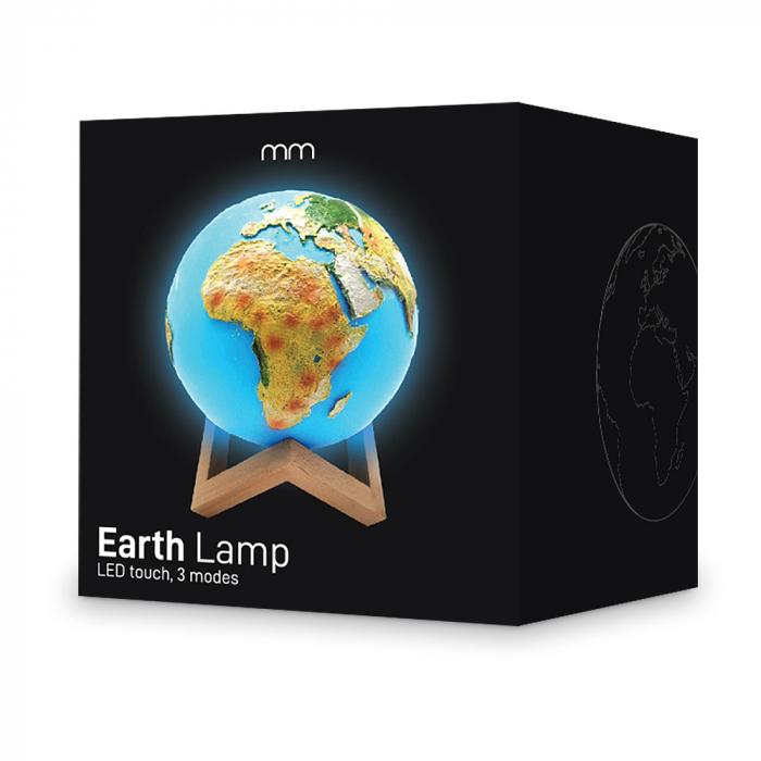 Lampa Glob Pamantesc 4