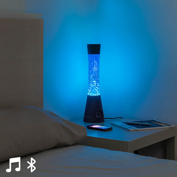 Lampa lava cu difuzor si microfon 0
