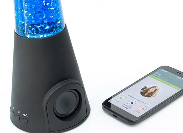 Lampa lava cu difuzor si microfon 5