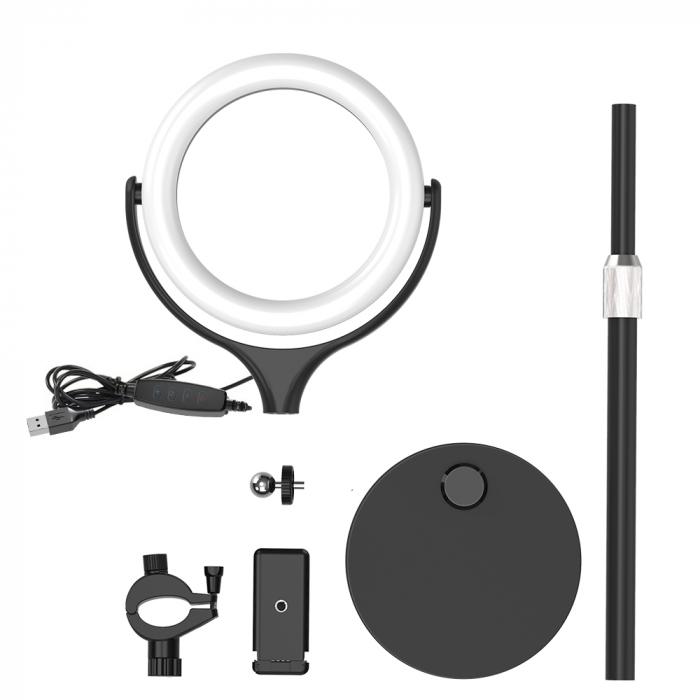 Lampa LED Make-up Profesionala BlitzWof BW-SL4, 64 leduri cu lumina rece/ calda 9