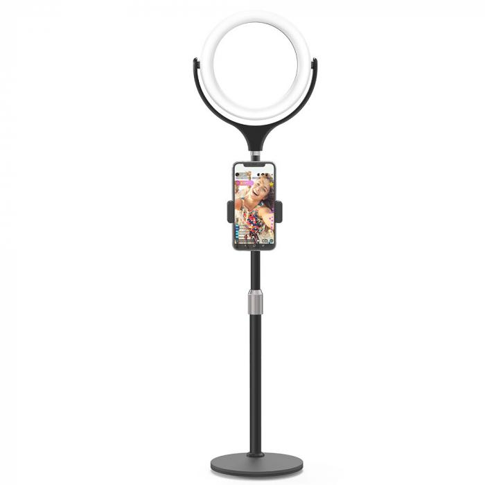 Lampa LED Make-up Profesionala BlitzWof BW-SL4, 64 leduri cu lumina rece/ calda 10
