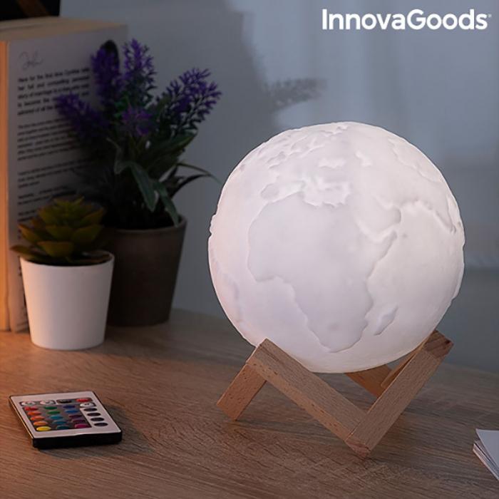 Lampa Terra 3D, 16 culori [4]