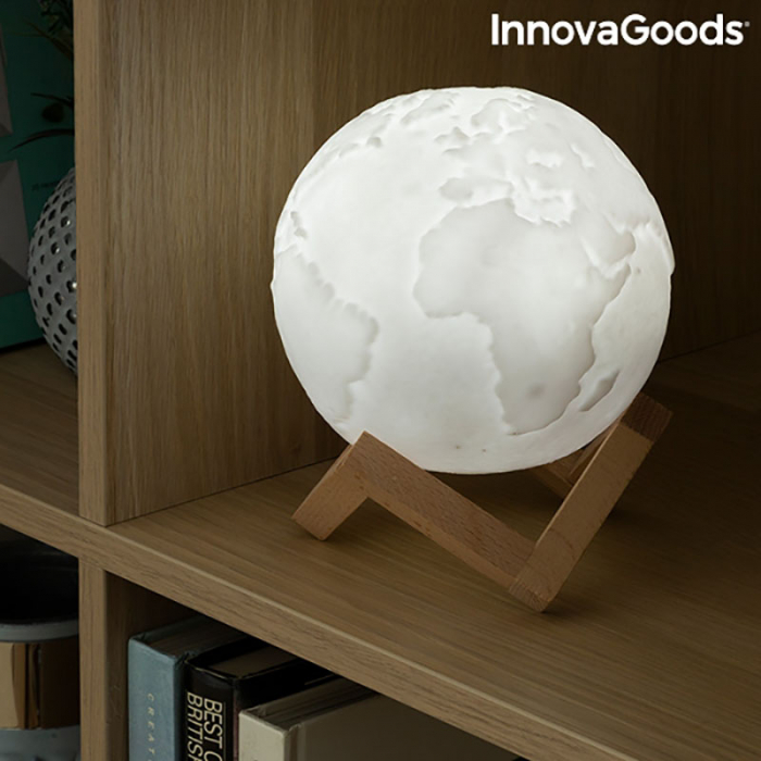 Lampa Terra 3D, 16 culori [7]