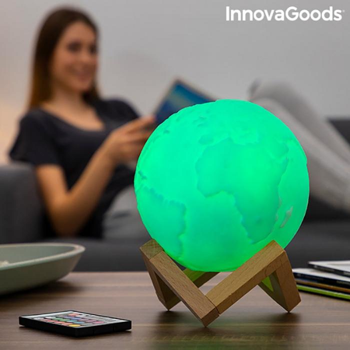 Lampa Terra 3D, 16 culori [1]