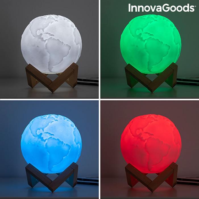 Lampa Terra 3D, 16 culori [10]