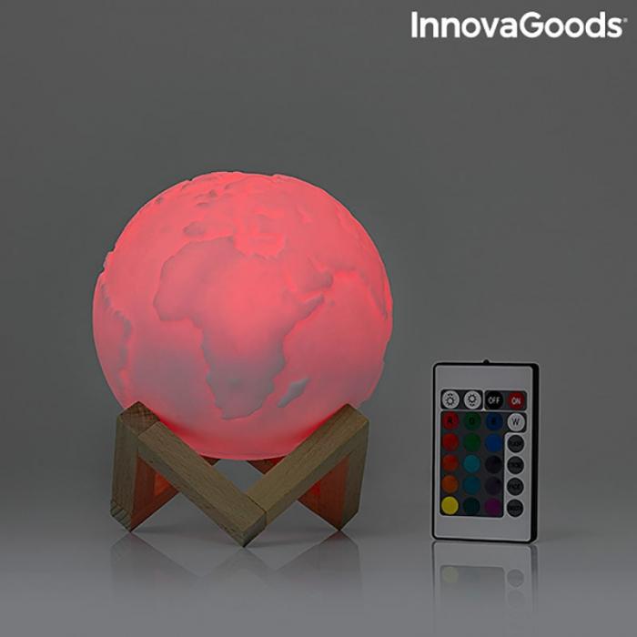 Lampa Terra 3D, 16 culori [12]